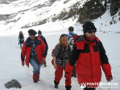 Parque Nacional de Ordesa - Cascadas y nieve; ruta de senderismo madrid